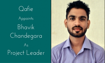 Qafie Appointed Bhavik Chandegara as a Project Leader