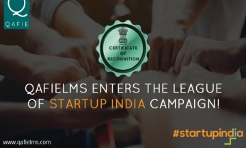 QafieLMS enters the league of Startup India Campaign